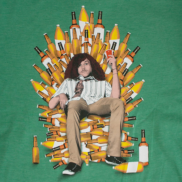 Men's Workaholics Blake Throne Of Booze T-Shirt