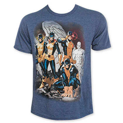 X-Men Origiteam Classic Blue Tee Shirt