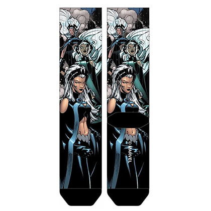 X-Men Sublimated Men's Storm Crew Socks