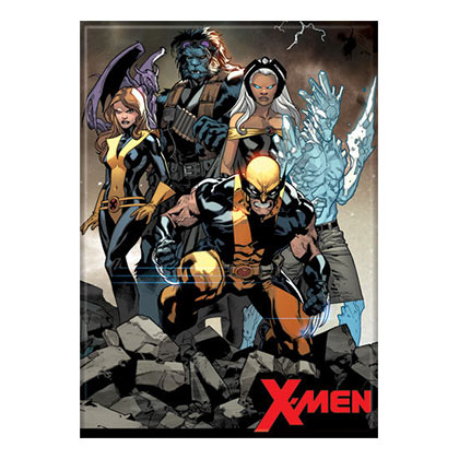 X-Men Comic Group Magnet
