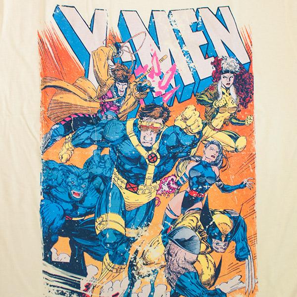 Retro X Men Yellow Tee Shirt