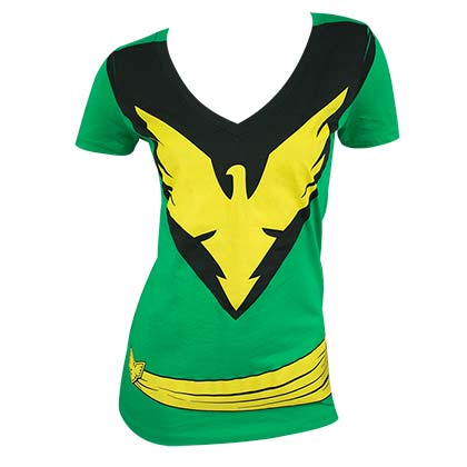 X-Men Women's Green Phoenix Costume T-Shirt