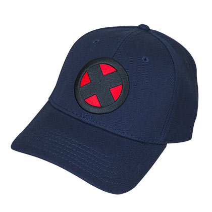 X-Men Navy Blue Flex Cap