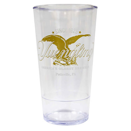 Yuengling Logo 20oz Plastic Beer Glass Drinking Cup