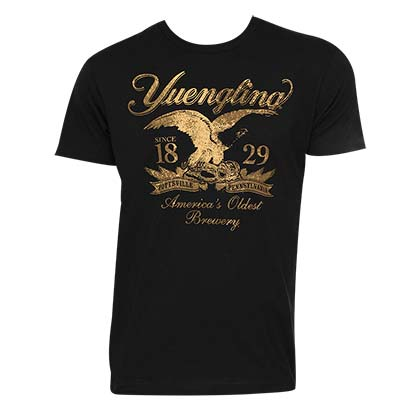 Men's Yuengling Gold Logo Tee Shirt