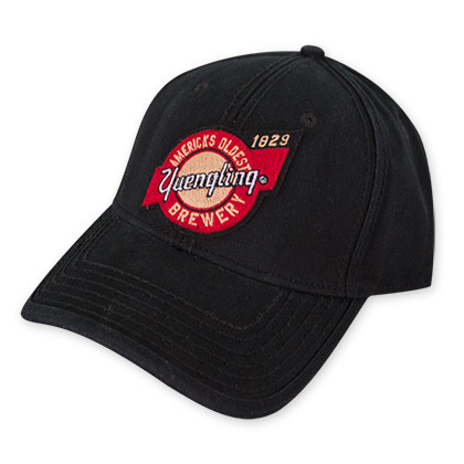 Yuengling Men's Black Circle Logo Hat