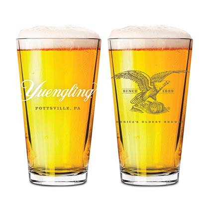 Yuengling Eagle Tumbler Beer Pint Glass