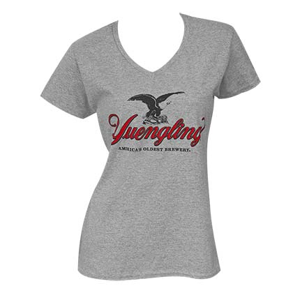 Women's Yuengling Grey Tee Shirt