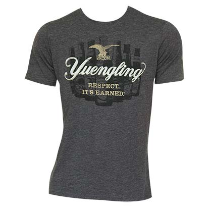 Men's Yuengling Charcoal Bottle Tee Shirt