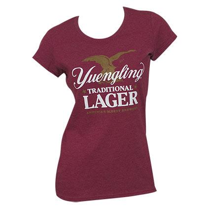 Yuengling Women's Maroon Lager T-Shirt