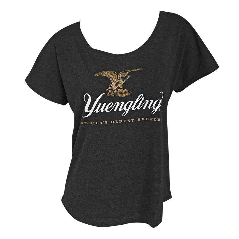 Yuengling Logo Loose Fit Women's Gray T-Shirt