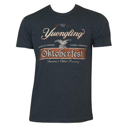 Yuengling Men's Navy Blue Oktoberfest Logo T-Shirt