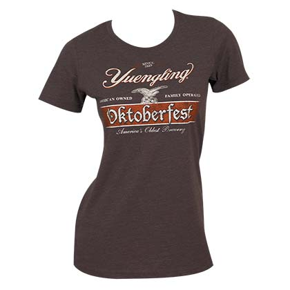 Yuengling Juniors Brown Oktoberfest T-Shirt
