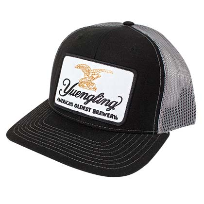Yuengling Patch Men's Black Trucker Hat