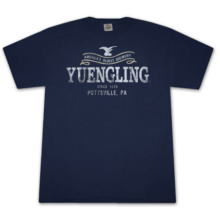 Yuengling Since 1829 Navy Blue Graphic T Shirt