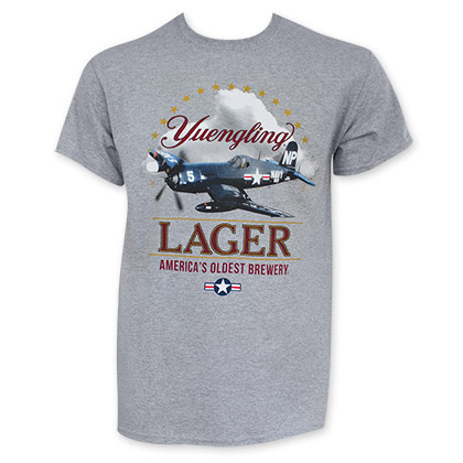 Yuengling Corsair Airplane Tee Shirt