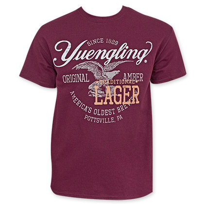 Yuengling Crimson Red Beer Logo T-Shirt