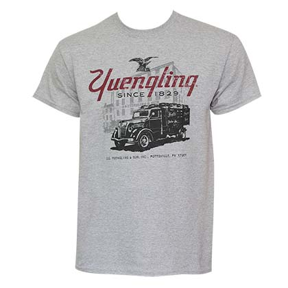 Men's Yuengling Grey Truck Tee Shirt