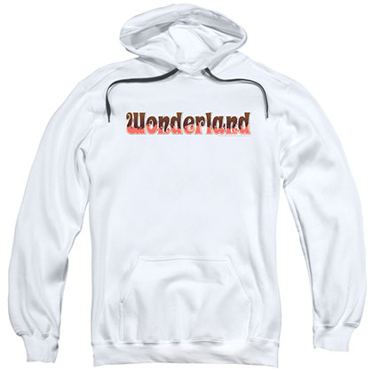 Zenescope Wonderland Logo White Pullover Hoodie