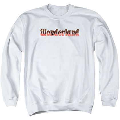 Zenescope Wonderland Logo White Crew Neck Sweatshirt