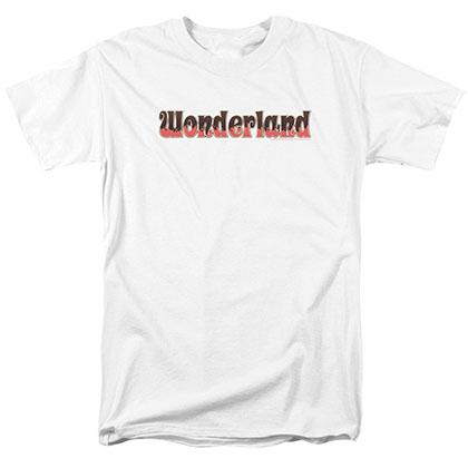 Zenescope Wonderland Logo White T-Shirt