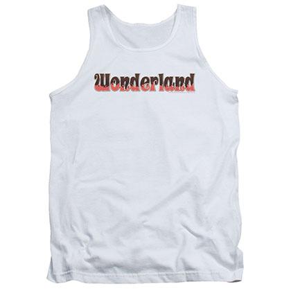 Zenescope Wonderland Logo White Tank Top