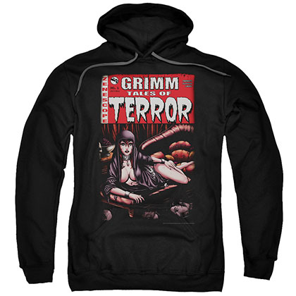 Zenescope Terror Cover Black Pullover Hoodie