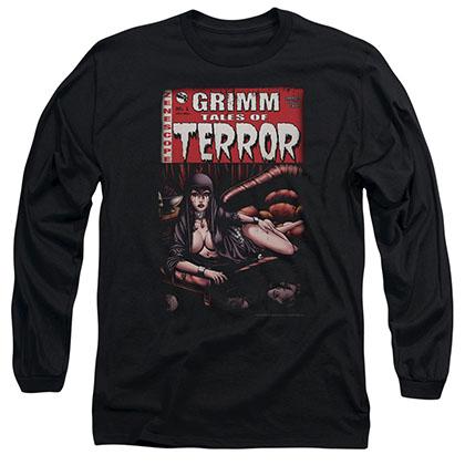 Zenescope Terror Cover Black Long Sleeve T-Shirt