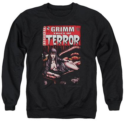 Zenescope Terror Cover Black Crew Neck Sweatshirt