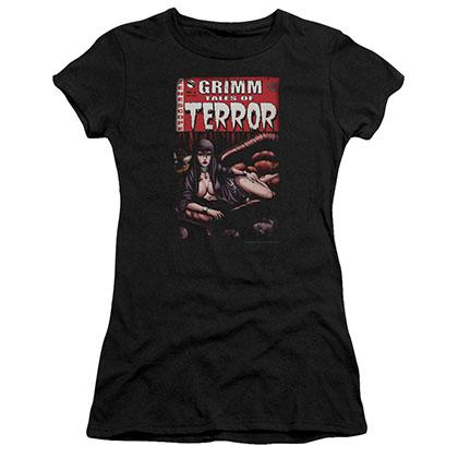 Zenescope Terror Cover Black Juniors T-Shirt