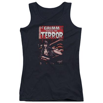 Zenescope Terror Cover Black Juniors Tank Top