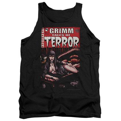 Zenescope Terror Cover Black Tank Top