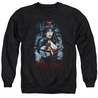 Zenescope Helsing Black Crew Neck Sweatshirt