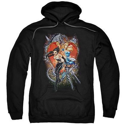 Zenescope Heart Black Pullover Hoodie