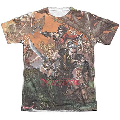 Zenescope Neverland White Sublimation T-Shirt