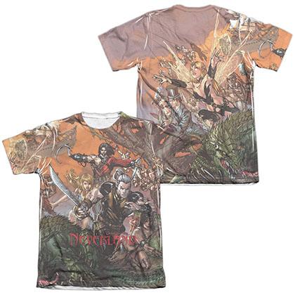 Zenescope Neverland White 2-Sided Sublimation T-Shirt