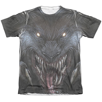 Zenescope Werewolf White Sublimation T-Shirt