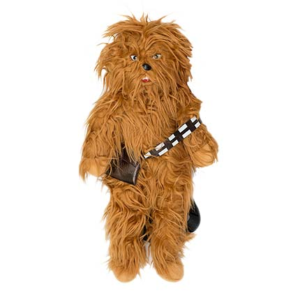 Star Wars Chewbacca Zipped Plush Backpack