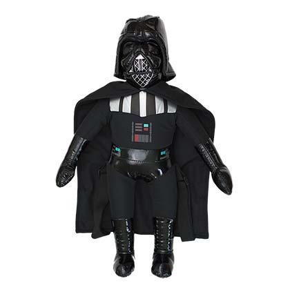 Star Wars Darth Vader Zipped Plush Backpack