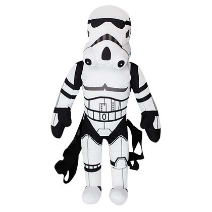 Star Wars Stormtrooper Zipped Plush Backpack
