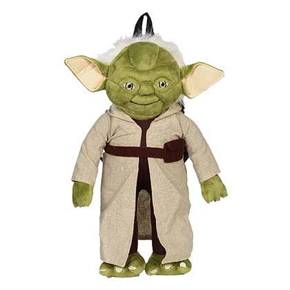 Star Wars Yoda Zipped Plush Backpack