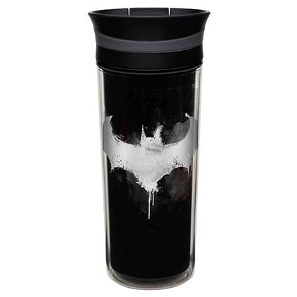 Batman Black Double Wall Travel Mug