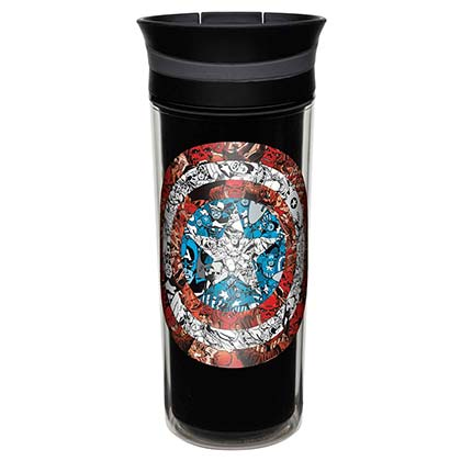 Captain America Insulated Travel Mug