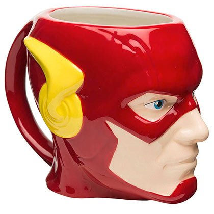 The Flash Red Molded Mug