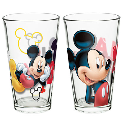 Mickey Mouse Pint Glass Set