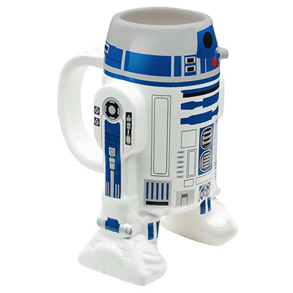 Star Wars Molded R2D2 Coffee Mug