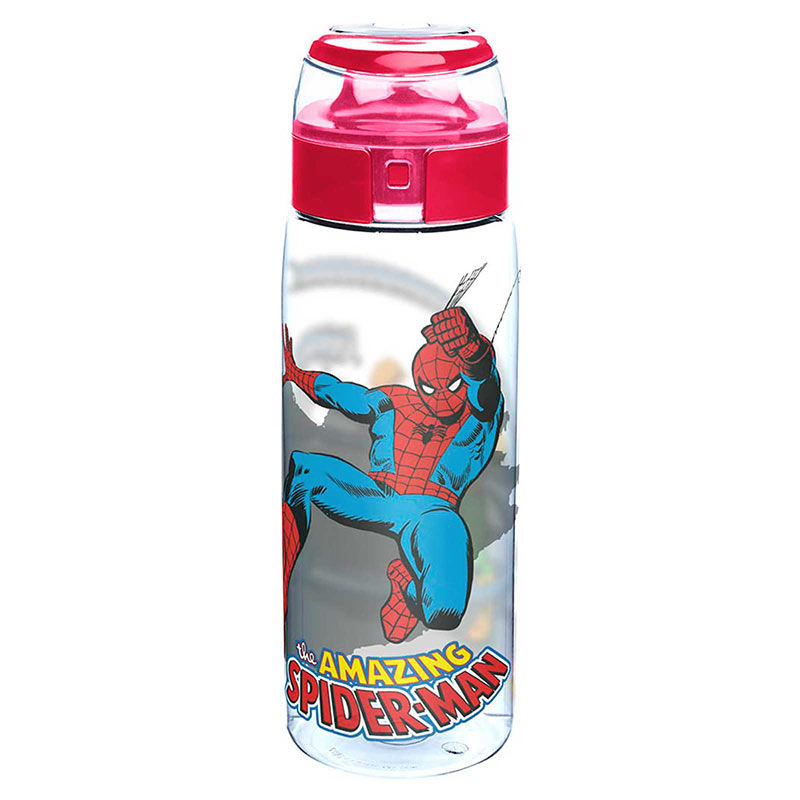 Spiderman Doc Ock Plastic Travel Water Bottle With Loop