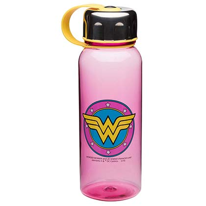 Wonder Woman Travel Water Bottle With Loop