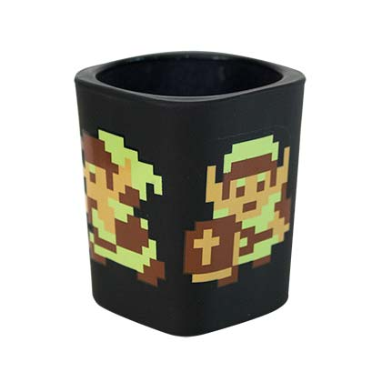 The Legend Of Zelda Black Square Shot Glass
