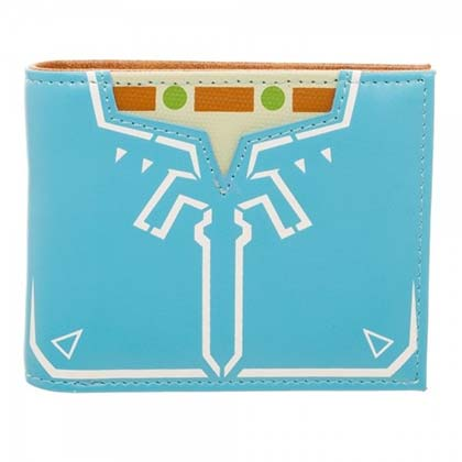 The Legend Of Zelda Bi-Fold Blue Breath Of The Wild Wallet